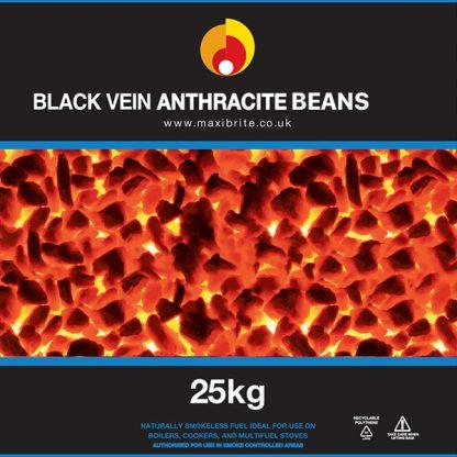 Black Vein Anthracite Beans
